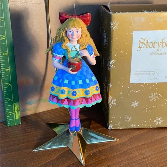 "Department 56 Storybook Ornament ""Goldilocks"""